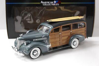 1:18 Sun Star 1939 Chevrolet Woody Surf Wagon Granville grey