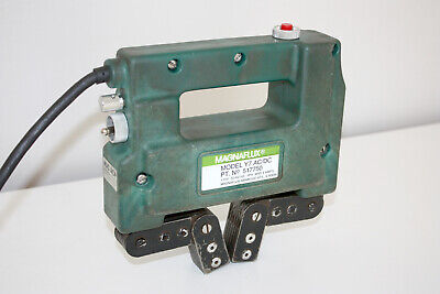 Magnaflux Y-7 Acdc Magnetic Particle Inspection Yoke 517750 With Case Y7