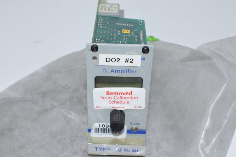 Ingold Type 170 O2 Oxygen Amplifier PLC Air Monitor DO2 Transmitter