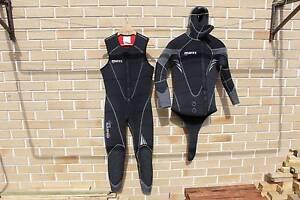 Mares Dual 7mm Men's Wetsuit & Dive Gear Birkdale Redland Area Preview