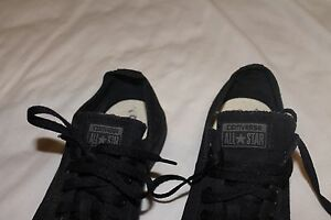Converse Allstars low, all black canvas Maryland Newcastle Area Preview