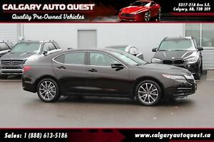 2015 Acura TLX Tech AWD/NAVI/B.CAM/LEATHER/ROOF