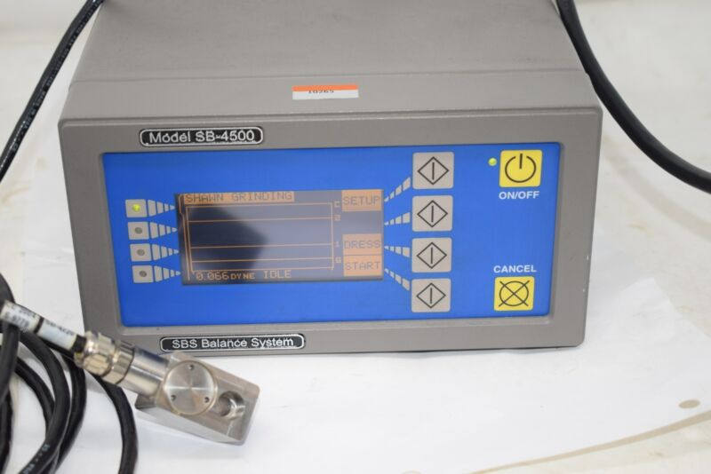 Schmitt Industries SB-4500 SBS Balancing Dynamic Balance System Sensor SB-4475-G
