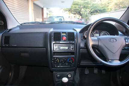 2006 Hyundai Getz Hatchback Kangaroo Point Brisbane South East Preview