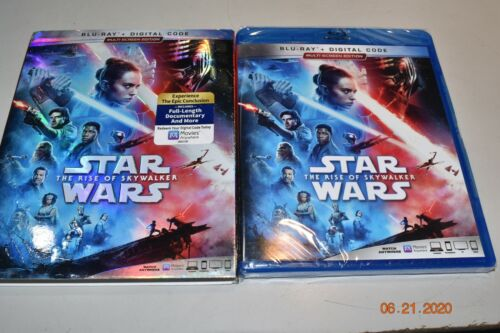 Star Wars The Rise of Skywalker (Blu-ray Digital) Multi-Screen Edition NEW