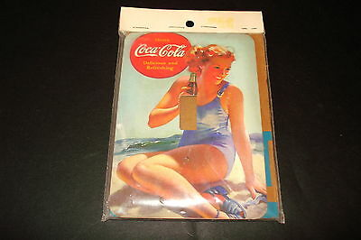 """COCA-COLA""""GIRL IN BATHING SUIT"""" NEW 3 3/4"""" X 5"""" SINGLE SWITCH PLATE"""