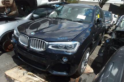 BMW X3 F25 Parts Engine Turbo Strut Light Airbag Grille Bonnet Revesby Bankstown Area Preview