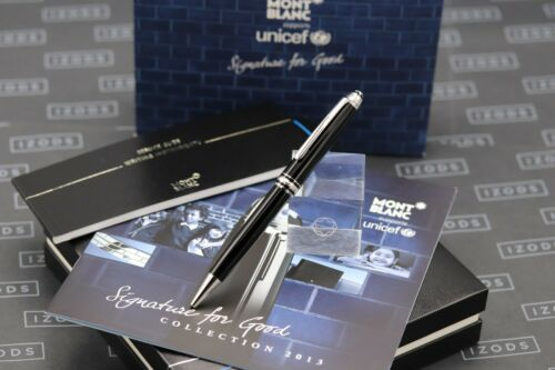 Montblanc Meisterstück UNICEF 2013 Signature For Good Classique Ballpoint Pen