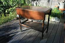 Antique Vintage Solid Timber Drop-side Tea Trolley c1930's Dee Why Manly Area Preview