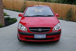 2010 Hyundai Getz Hatchback Mont Albert North Whitehorse Area Preview