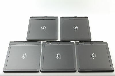 [Exc+5 x5] Fidelity Elite 8x10 Large Format Cut Film Holder RW V Back From JAPAN
