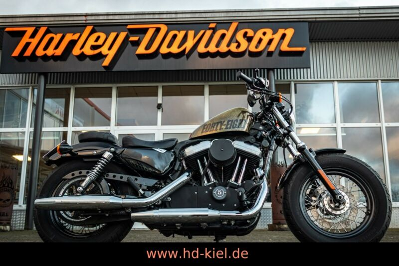 Harley-Davidson XL1200X Forty-Eight Sportster 48 GOLD FLAKE