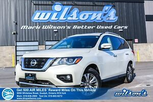 2017 Nissan Pathfinder SL 4WD | LEATHER | 360 CAMERA | MOVING OB