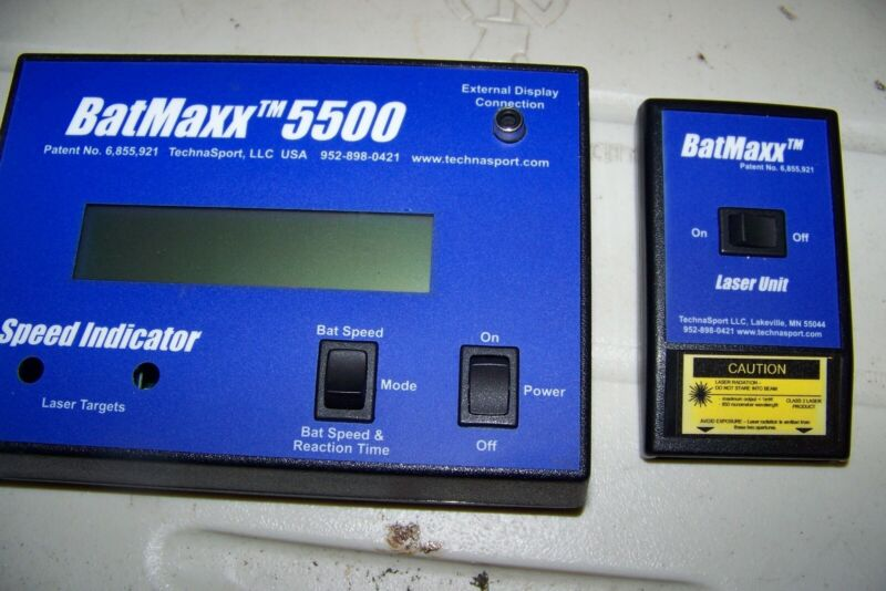 Techna Sport Batmaxx 5500 Laser Baseball Speed Indicator
