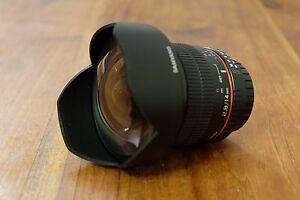 Almost New Samyang 14mm f/2.8 Nikon Mount Marleston West Torrens Area Preview
