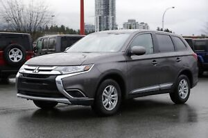 2018 Mitsubishi Outlander ES - ALLOY WHEELS!