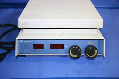 Thermolyne Sp73035-60 Laboratory Hotplate Magnetic Ceramic Plate - 13314
