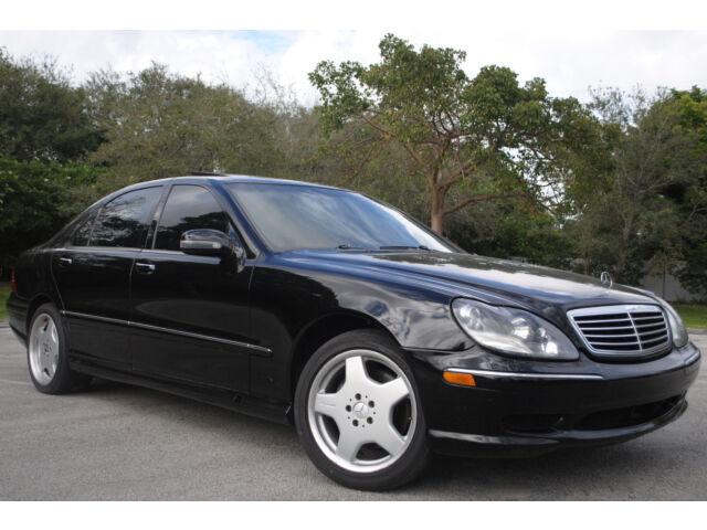 2001 mercedes s500 v8 aut trans leather black interior no reserve used mercedes benz. Black Bedroom Furniture Sets. Home Design Ideas