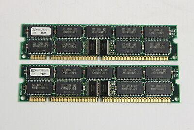 SUN X7031A 128MB MEMORY KIT (2X64MB) 168 PIN DIMM ULTRA 5  64MB P/N 370-3199-01 Ultra Memory Kit