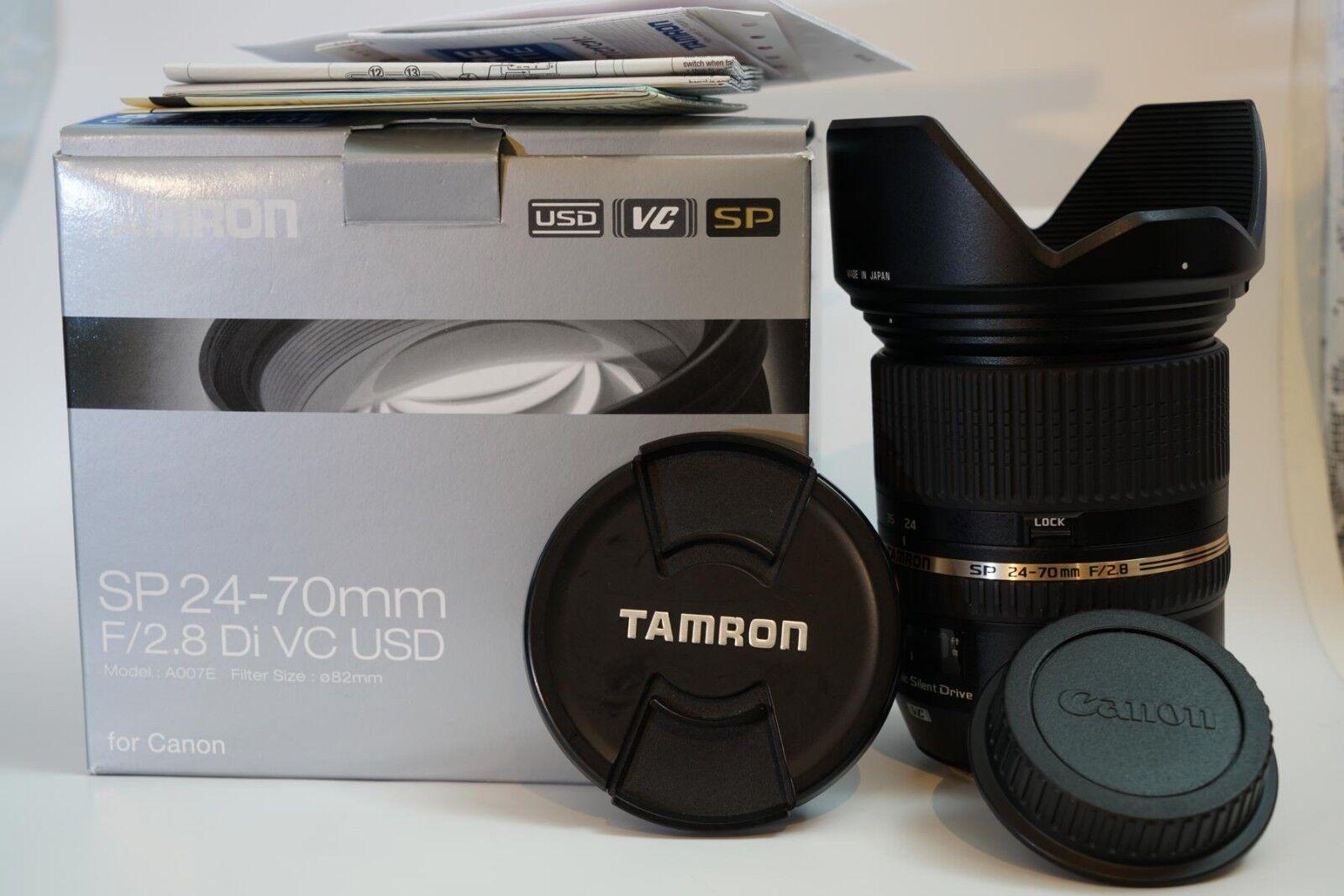 Tamron SP 24-70 mm F/2.8 SP Di VC USD Objektiv für Canon (EF und EF-S)