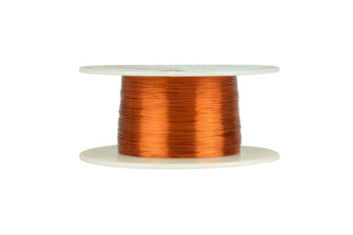 TEMCo Magnet Wire 31 AWG Gauge Enameled Copper 200C 4oz 987ft Coil Winding