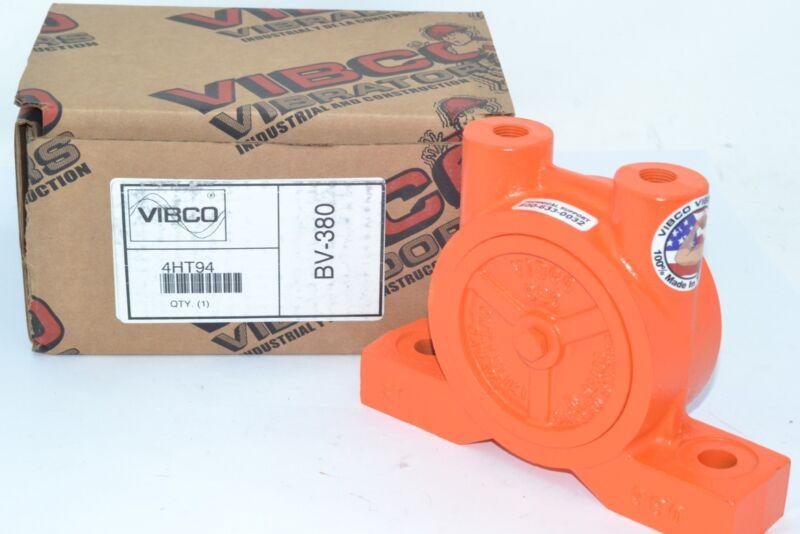 NEW VIBCO BV-380 Pneumatic Vibrator, 600 lb, 6200 vpm, 80psi