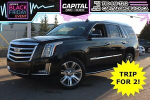 2018 Cadillac Escalade LUXURY 4WD | HEATED STEERING | NAV | DVD