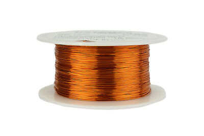 Temco Magnet Wire 26 Awg Gauge Enameled Copper 200c 8oz 629ft Coil Winding