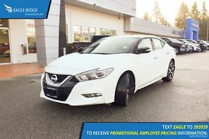 2017 Nissan Maxima SV Navigation, Leather, Backup Camera