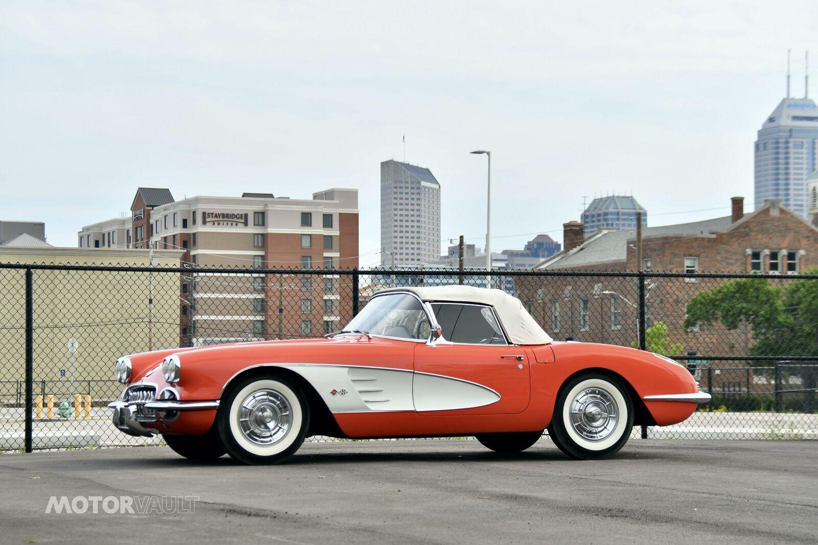 1958 Red Chevrolet Corvette   | C1 Corvette Photo 6