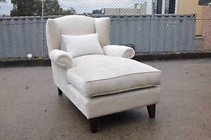 FLOOR STOCK CLEARANCE- FLORA WING CHAIR CHAISE SOFA LOUNGE COUCH Wetherill Park Fairfield Area Preview