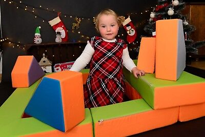 Kindersofa Spielsofa Spielzeug PUZZLE 4 Farben Kinderbett Matratze Spieltisch