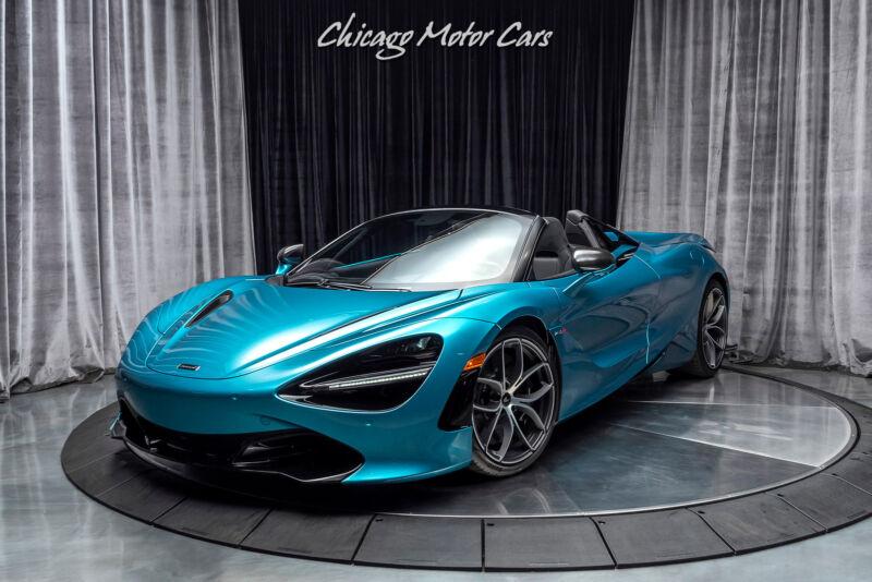 Image 4 Voiture Asiatique d'occasion McLaren 720S 2020