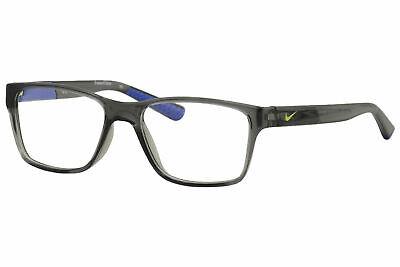 Nike Boy's Youth Eyeglasses 5532 060 Crystal Dark Grey Optical Frame (Youth Glasses)