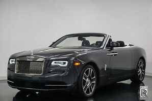 2017 Rolls-Royce Dawn Gunmetal Grey