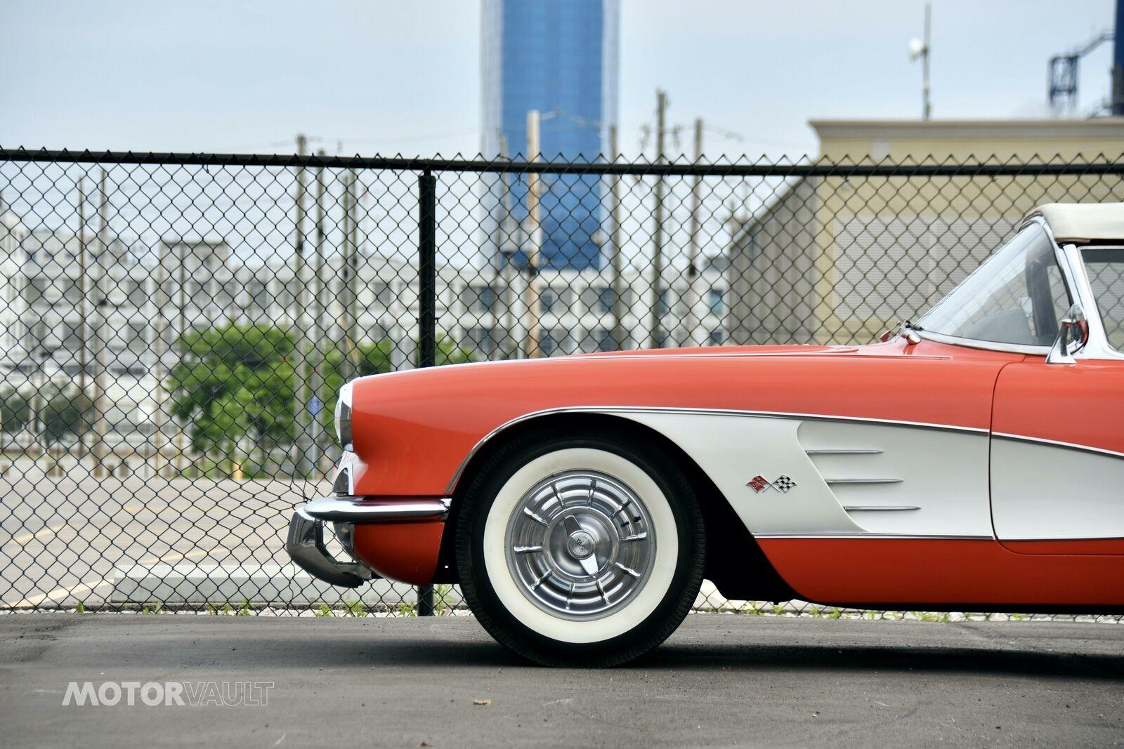 1958 Red Chevrolet Corvette   | C1 Corvette Photo 7