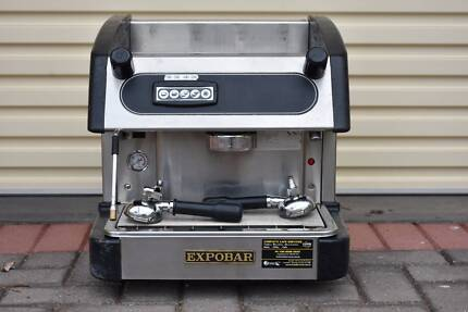 Serviced Expobar Elegance Commercial Coffee Espresso Machine