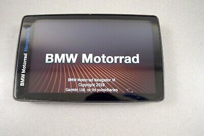 BMW Motorrad Garmin Navi 6 NORTH AMERICA MAPS  *READ DESCRIPTION & SEE PHOTOS*