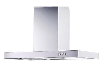"Stainless Steel 30"" Kitchen Island Range Hoods Ventilation System 3 Speeds Fan"