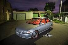 Custom 1993 Honda Civic Sedan showcar. Bagged, billets, trim etc Leichhardt Leichhardt Area Preview