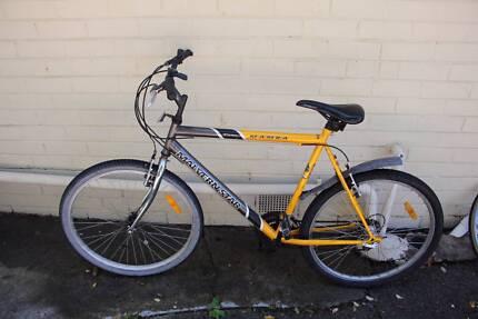 Malvern Star yellow bike