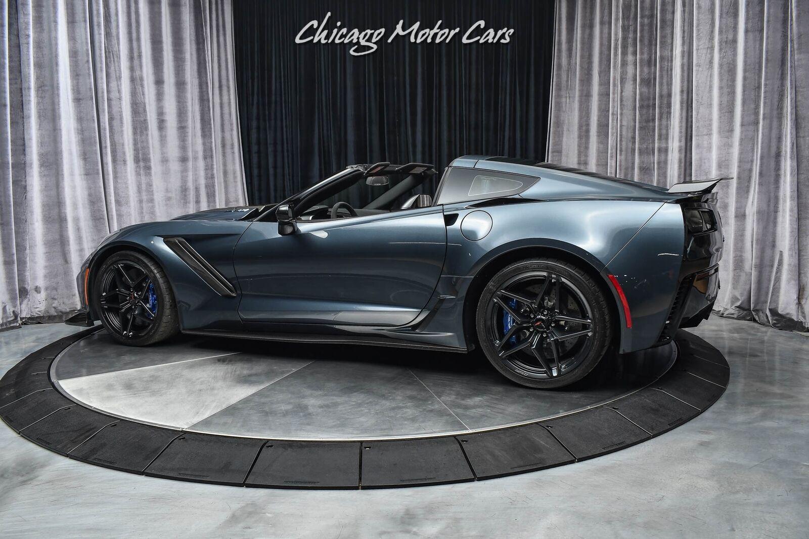 2019 Gray Chevrolet Corvette ZR1  | C7 Corvette Photo 3