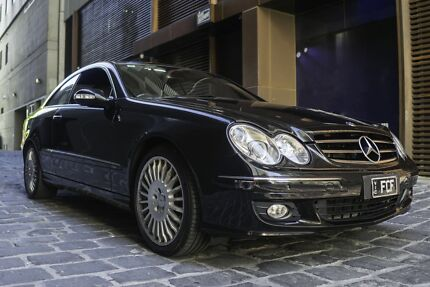 Mercedes Benz CLK280 Melbourne CBD Melbourne City Preview