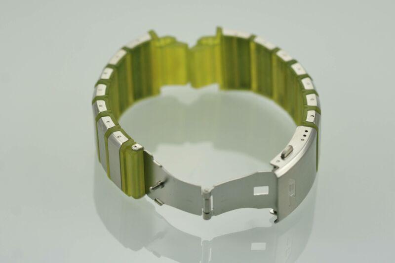 1DD0 Faltschließe Schließe-Band-Schnalle Edelstahl Silber 14-20MM Uhrenarmband