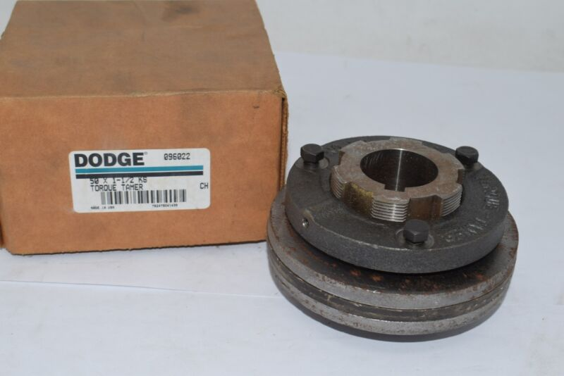 NEW Dodge Torque-Tamer 096022 Finished Bore Size 50 Mechanical Overload Clutch,