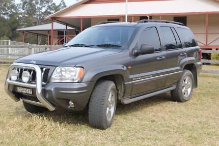 2003 Jeep Grand Cherokee Overland Wagon