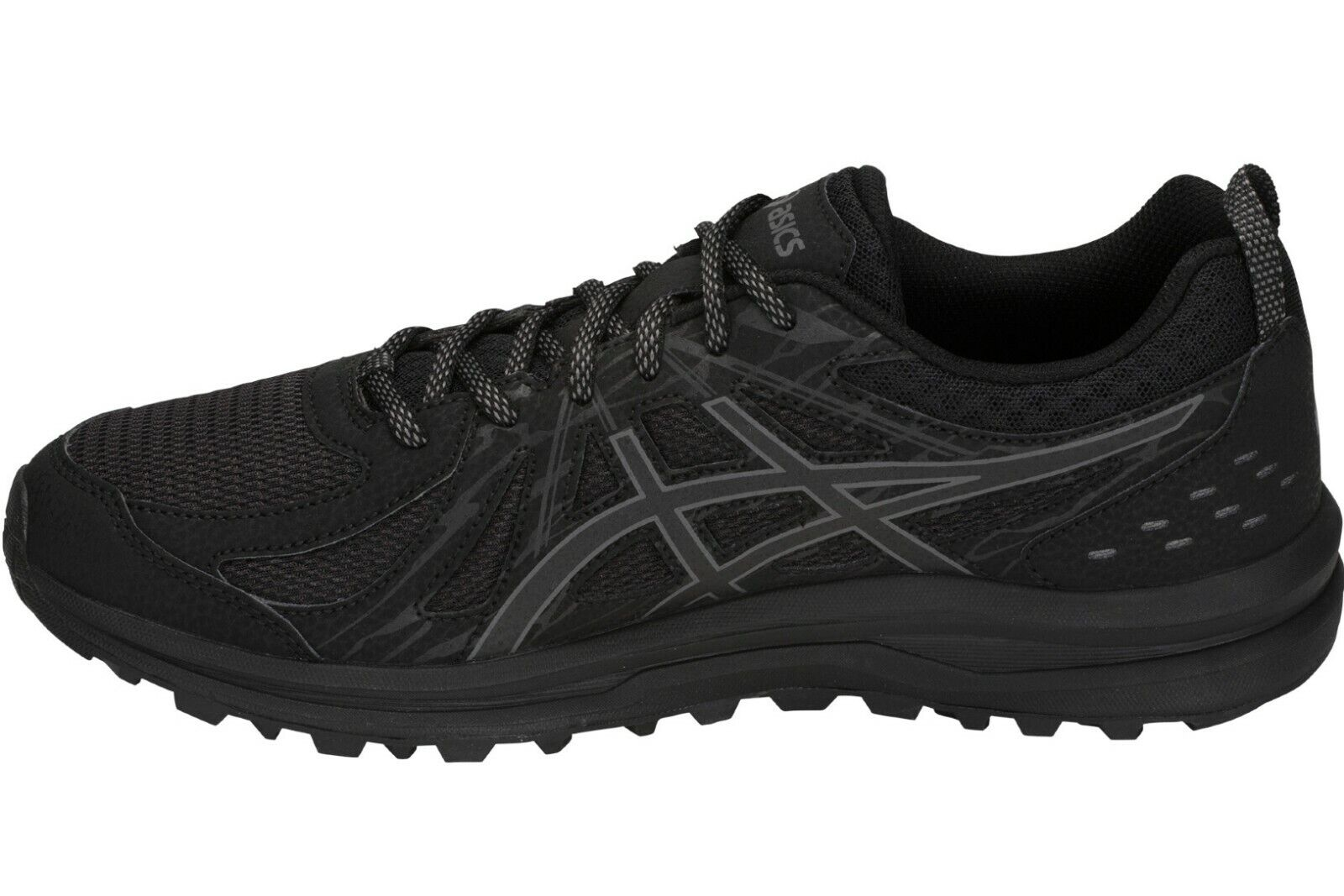 Asics Frequent Trail Mens Black Trainers Neutral Running Sho