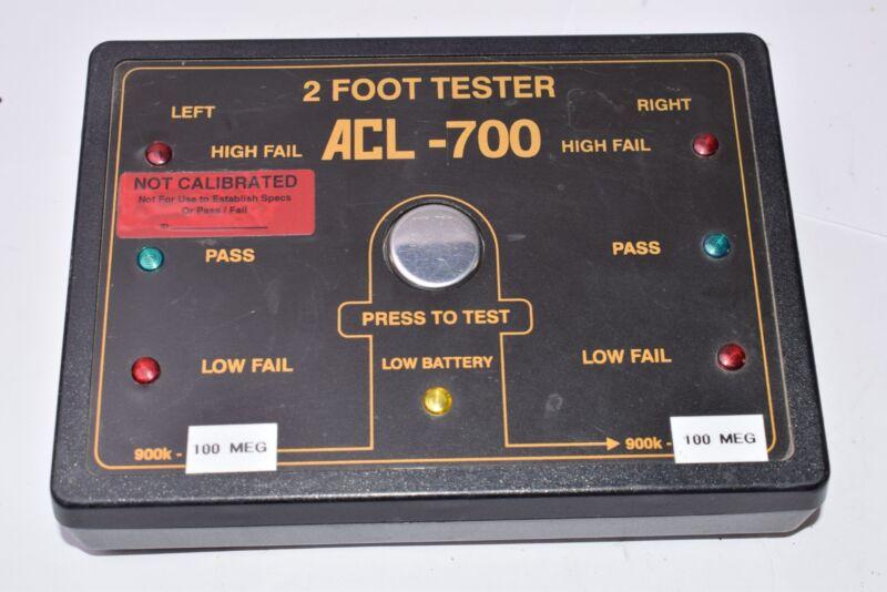 Vintage ACL - 700 2 Foot Tester 900K-100 MEG, SER NO. 31396