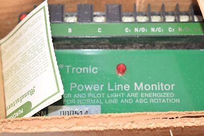 New General Equipment Mfg Co 553100 Go Tronic Power Line Monitor