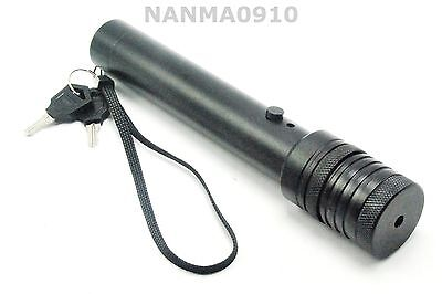 Focusable 300 Type Diy Laser Pointer Led Torch Housing Host Case W Safety Key